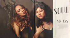 Prinnie Stevens and Mahalia Barnes for SA Style