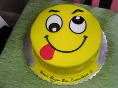 emoticon cake | Irena | Flickr