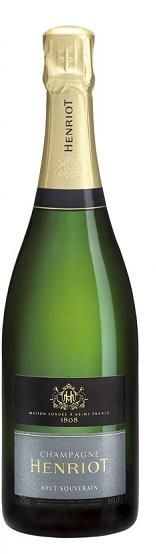Champagne Henriot brut souverain. Served in global first.