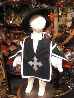 Baby Musketeer Costume   6-12 months by MossyRoseCB on Etsy