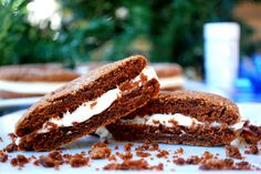 Soft and Chewy Gingersnaps with Cinnamon Cream Cheese Frosting