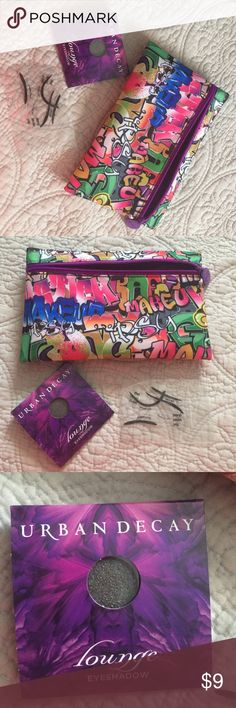 Rebel Eye Bundle/Urban Decay/ IPSY & Beth Bender You will receive:  1x NWOT Ipsy Glam bag + 1x Urban Decay mini eyeshadow NWT + 1 Perfect Cat/Smokey Eye Template set.  Retail value=$18. I am an authorized CA Reseller LIC # SR FHA 102-916017 $  Make Offers!   SAVE 20% when you bundle 2+   All items ship From CA  3️⃣ FYI: items are posted on 3 other sites as well   All items are Detailed-please read profile for more info   I do NOT hold items ❌NO trades  cosmetics are new , unused Urban Decay…