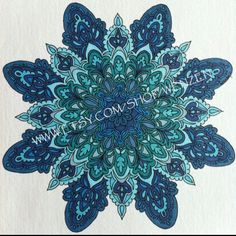 *****I ABSOLUTELY LOVE this Mandala!