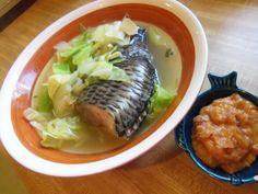 Pesang Isda - a filipino fish stew. savory and slightly sour