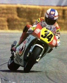 Kevin Schwantz Laguna Sexa GP500 drift