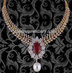 Detacahbale Pendant with Diamond Set