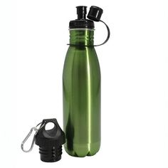 Bring your drink on the go with this Danesco reusable water bottle. The H2O Eco water bottle is a safe and environmentally sound choice to reduce waste and stay healthy.