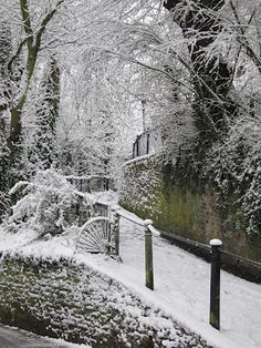 Hampstead in the snow…