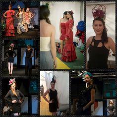 Tocados con aire flamenco