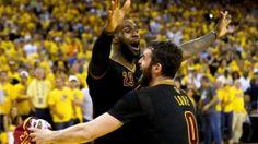 02294c83fc2d Living legend  LeBron James delivers Cleveland first championship ascends  in NBA history