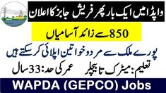 Cash Program, Job Center, Latest Jobs In Pakistan, Application Form, Electric Power, Apply Online, New Job, How To Apply, Education