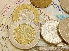 Photo about Polish zloty currency money - banknotes and coins. Image of tender, warsaw, zloty - 17397427 Polish Language, Krakow Poland, Historical Monuments, Polish Recipes, Polish Pottery, Rare Coins, My Heritage, Warsaw, Brussels