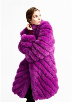 Vintage Furcoat Lavender Lady - Our vision is to provide urban, active and quality conscious women and men with fur garments that complement their lifestyles. Steampunk Clothing, Steampunk Fashion, Gothic Fashion, Gothic Steampunk, Victorian Gothic, Emo Fashion, Fashion Tips, Fox Fur Coat, Shearling Coat
