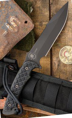 Spartan Blades Horkos Tactical Fixed Knife Blade Fighting Utility Knife Kydex Sheath