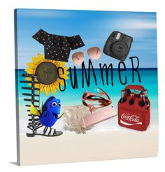 """""""Summer"""" by officainstacute on Polyvore featuring art"""