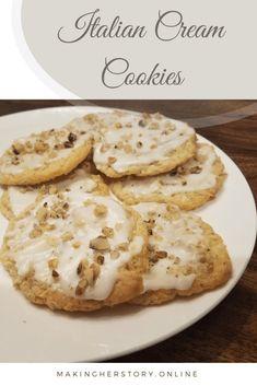 Italian Cream Cookies – Making Herstory