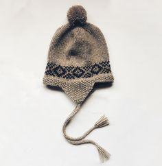 Peruvian Baby Hat Ear Flap - Pattern coming soon 🐭✨👩🏼💻 Baby Hat Patterns, Baby Design, Baby Hats, Baby Knitting, Ravelry, Winter Hats, Ear, Knits, Fashion