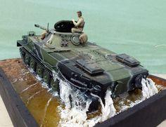PT-76B scale model russian