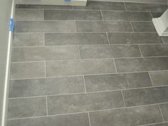 Crossville Ceramic Co from The Great Indoors, 6 x 24 planks (color: Lead)