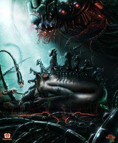 Cyberpunk, Epiphany of Suffering by Fraxture