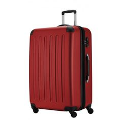 "Spree - Koffer Hartschale Rot matt, TSA, 75 cm, 128 Liter; Roter #Rollkoffer aus der Serie ""Spree"" von #Hauptstadtkoffer.  #Hartschalenkoffer #Rot #Rollkoffer #Trolley #Koffer #Travel #Luggage #Reisen #Urlaub #red #rouge => mehr Rote Koffer: https://hauptstadtkoffer.de/de/catalogsearch/result/index/?color=26&limit=90&q=Rot"