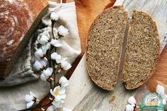 """postup ako pripraviť chlieb s kváskom od Chuť od Naty """"božský"""" Food And Drink, Bread, Cooking, Petra, Bakery Business, Kochen, Breads, Brewing, Sandwich Loaf"""