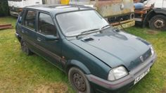eBay: classic barn find restoration project first car ROVER METRO GREEN 1994 #carparts #carrepair