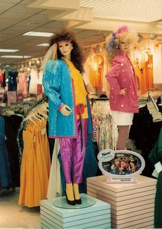 Barbie and the Rockers display at the Glendale Galleria 1985 | Flickr - Photo Sharing!