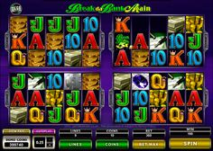 Break da Bank Again Mega Spin slots at Vegas Paradise. Sign up now, avail £5 bonus and break the bank to win big