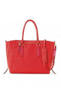 My next Stella & Dot purchase.... Madison Tech Bag in Poppy