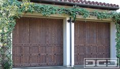 Spanish Style Garage Doors | Custom Designed & Handcrafted near Los Angeles, CA!