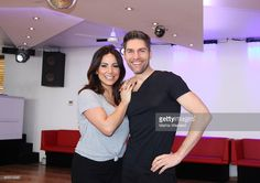 Enissa Amani and Christian Polanc pose at a photo call for the television competition 'Let's Dance' on March 3, 2015 in Cologne, Germany. On March 13th, the show, in which celebrities compete at dancing, goes into its eighth round on the German network RTL.