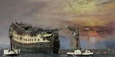 The Fighting Temeraire, nach einem Gemalde von Turner, by Gnost