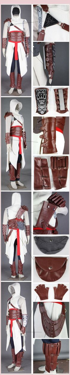 Assassin's Creed Costume Pattern | ... : Assassin's Creed 2 Brotherhood Altair Assassin Cosplay Costume