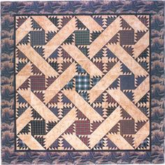 Popular Quilting Patterns: The Bear Paw Quilt Pattern