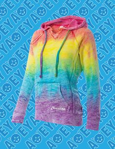 Hey, I found this really awesome Etsy listing at https://www.etsy.com/listing/125864556/tie-dye-hoodie-rainbow-with