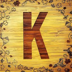 We made this K for KAMERS 2016 AUTUM SHOW when announcing we are taking place in it. It was made from their original logo Made by #hallojane #kamers2016 #kamersvol #Capetown #makers
