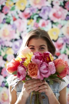 flower power :) But, omg guys! This is Meg like my favorite youtuber ever!