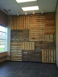Pallet Focal Wall