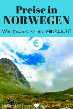 Preise in Norwegen - man weiß, dass dort alles sehr teuer sein soll. Aber wie teuer ist es wirklich? Wir zeigen dir, was alltägliche Dinge in Norwegen kosten. So kannst du dein Reise-Budget noch genauer planen.