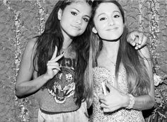 Selena Gomez and Ariana Grande edit