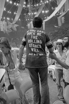 IF YOU CAN'T ROCK ME… THE ROLLING STONES WILL.