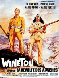 Winnetou - 1. Teil - French Movie Poster