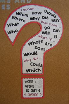 question words and phrases Classroom Language, Classroom Setup, Teaching Writing, Teaching Tips, Questioning Techniques, Reading Is Thinking, Ccss Ela, English Language Arts, Cycle 3