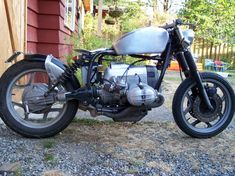 Image detail for -BMW Bobber Motorcycle in Silver