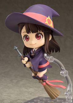 "Crunchyroll - GSC Magic Transforms ""Little Witch Academia"" Heroine Atsuko Kagari Into Nendoroid Figure"
