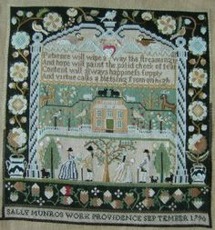Sally Munro, 1790 :: Sampler Browse :: The Essamplaire