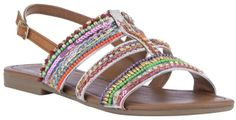 £20 F&F Beaded H-Bar Sandals on shopstyle.co.uk