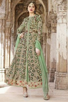 http://www.mangaldeep.co.in/salwar-kameez/elegant-mehendi-green-colour-and-flamboyant-pista-colour-is-introducing-a-semi-stitched-anarkali-suit-7721 For further inquiry call us or Whats App on :: +919377222211