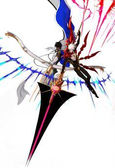 Karna and Arjuna Anime Manga, Anime Guys, Anime Art, Fantasy Character, Character Design, Fate Characters, Fate Stay Night Anime, Fate Servants, Fate Anime Series